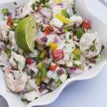 Shrimp and Grouper Fiesta Ceviche