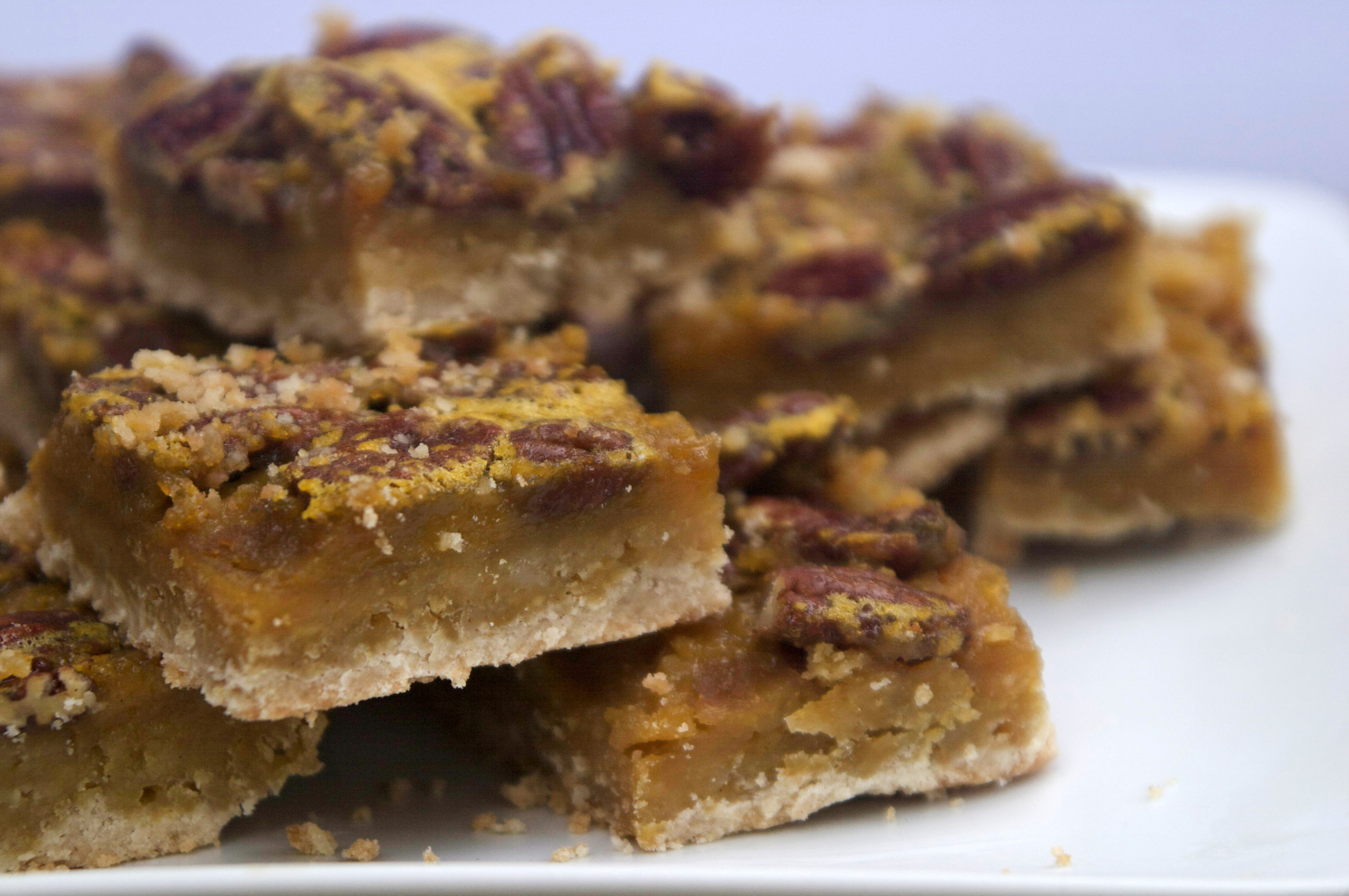 To-Die-For Maple Pecan Squares | The Pescetarian and the Pig