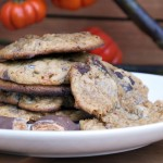 Peanut Butter Pumpkin and Butterfinger Cookies