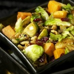 Cranberry Walnut Butternut and Brussels