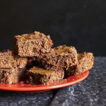 Vegan Pomegranate Kahlua Brownies