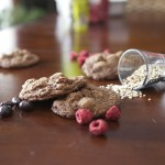 Chocolate Raspberry Espresso Quinoa Cookies