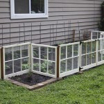 Reclaimed Window Vegetable Garden