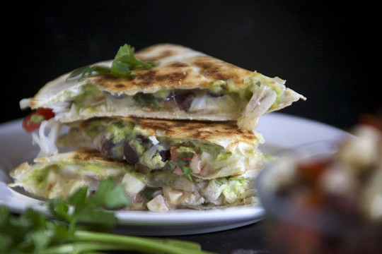Lump Crab and Avocado Quesadilla