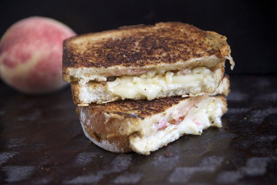 Peach Port Salut and Pepper Jack Grilled Cheese Sandwich | The ...